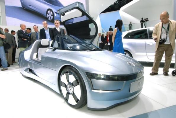 Volkswagen präsentiert mit einer Studie das 1-Liter-Auto