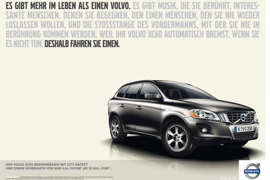 Volvo mit weltweit einheitlichen Markenauftritt