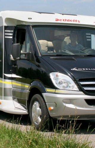 Wohnmobile: Fahrbericht Dethleffs Globeline T 7013: Ein Stern strahlt in der Mitte