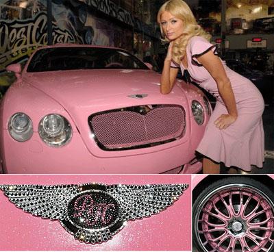 berraschung! Paris Auto ist pink!