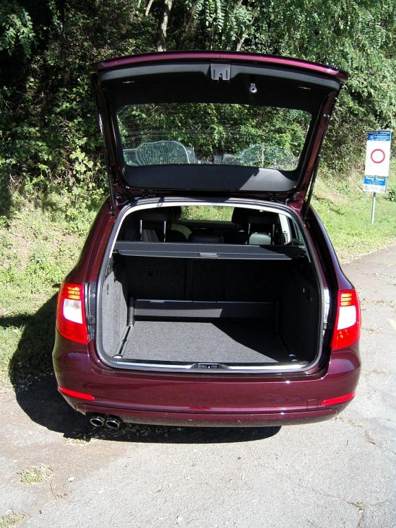 Škoda Superb Combi: Eleganz gepaart mit Raumangebot