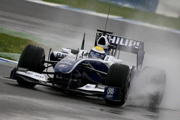 3. Freies Training: Rosberg mit Regenbestzeit