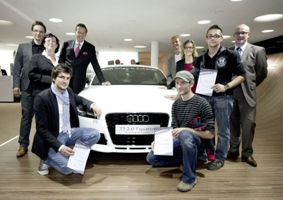 Audi-Design-Wettbewerb – Chance für junge Kreative