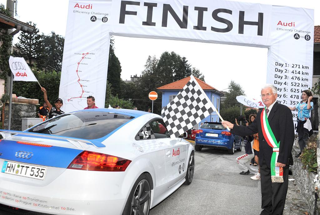 Audi Efficiency Challenge: Ziel in Bée erreicht