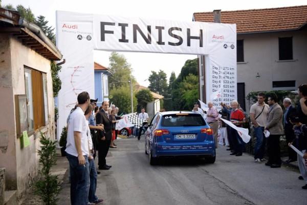 Audi: Teilnehmer des Spritspar-Marathons erreichen das Ziel