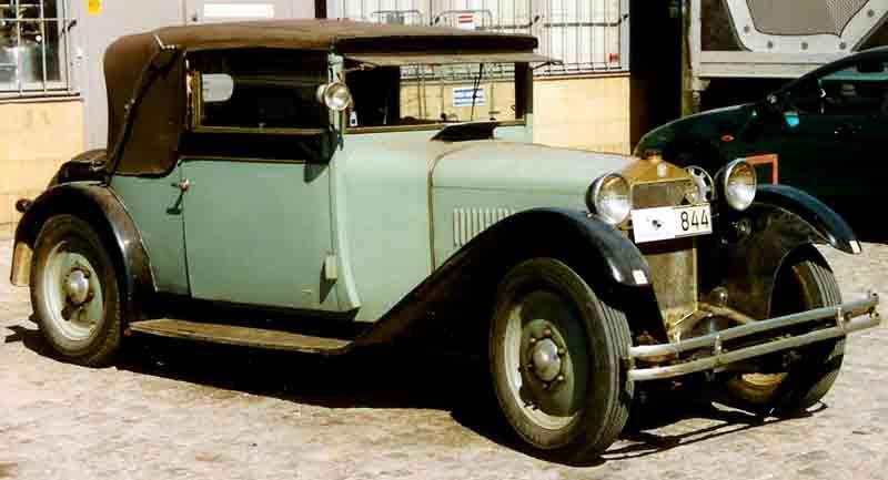 Brechts geliebtes Auto: das Steyr XII-Cabriolet