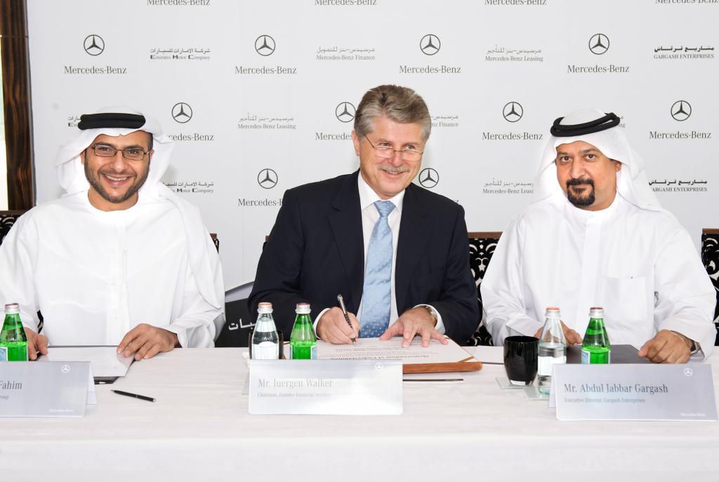 Daimler Financial Services startet Geschäft in den Vereinigten Arabischen Emiraten