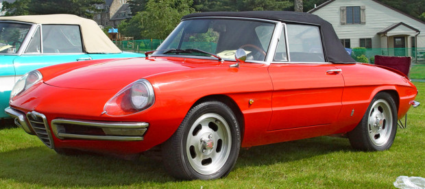 Das Cabrio unter den Auto Klassikern- Der Alfa Romeo Spider
