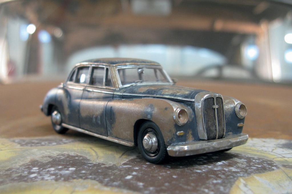 Der letzte Horch auch als Modellauto erhältlich