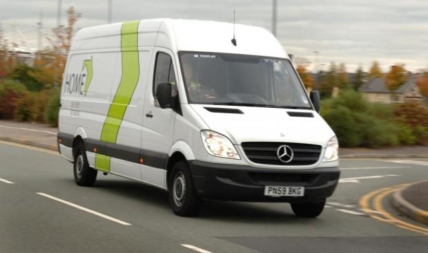 Englischer Paketdienst bestellt 500 Mercedes-Benz Sprinter