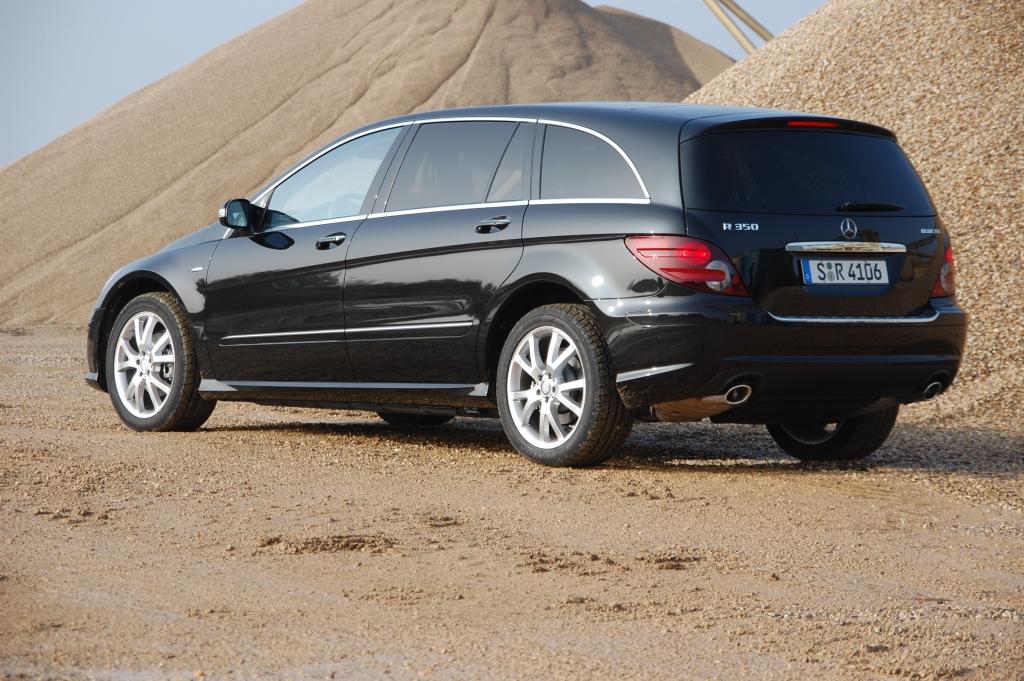 Erstkontakt Mercedes-Benz R 350 BlueTEC 4MATIC: Daimlers Way of Life
