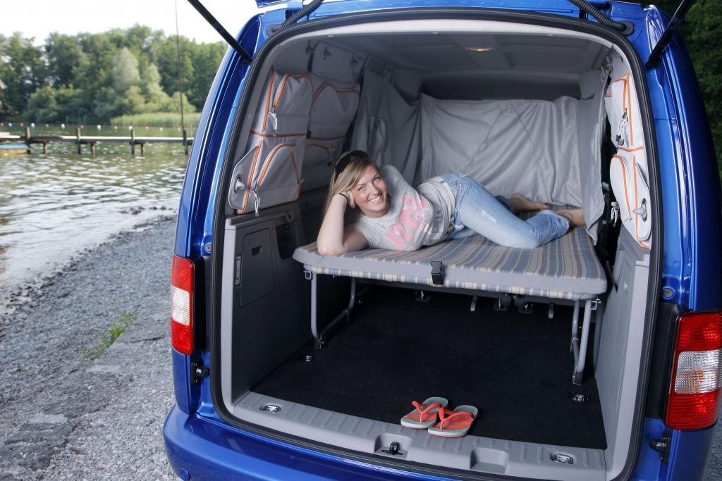 Fahrbericht VW Caddy Maxi Tramper Ecofuel: Spar-Urlaub für Flexible - Bild 11