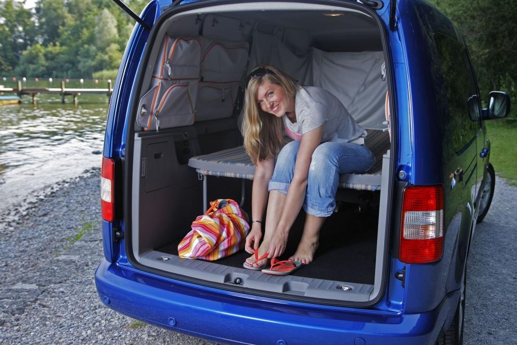 Fahrbericht VW Caddy Maxi Tramper Ecofuel: Spar-Urlaub für Flexible - Bild 12