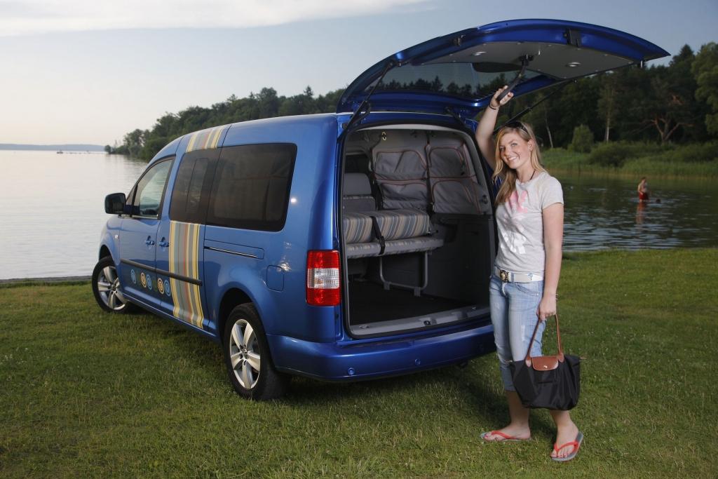 Fahrbericht VW Caddy Maxi Tramper Ecofuel: Spar-Urlaub für Flexible - Bild 13