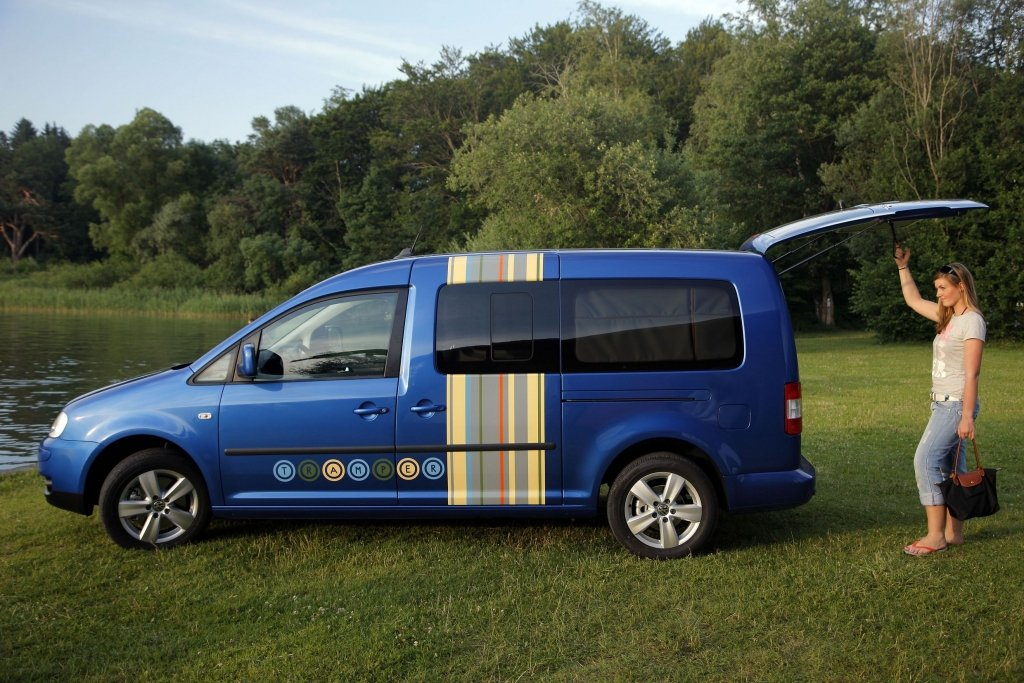 Fahrbericht VW Caddy Maxi Tramper Ecofuel: Spar-Urlaub für Flexible - Bild 14