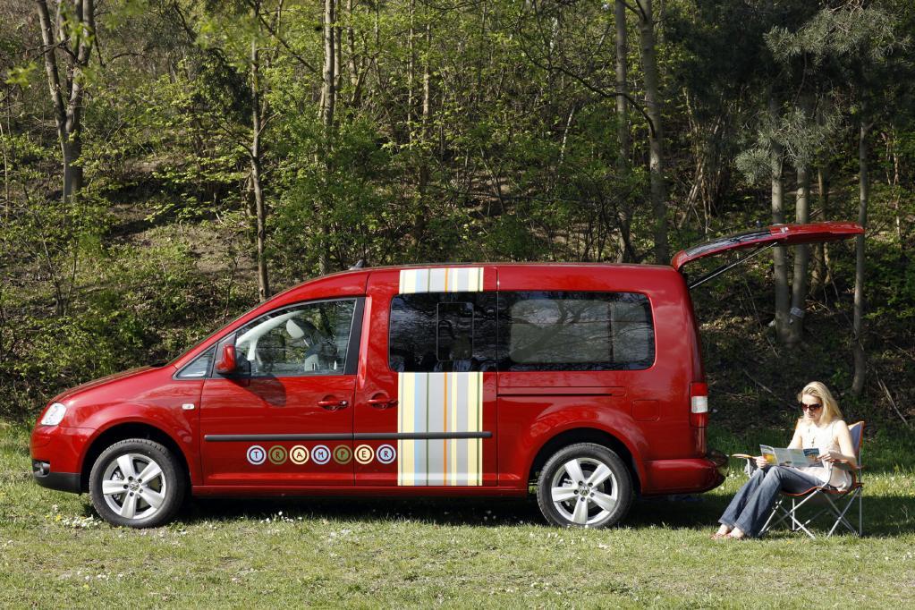Fahrbericht VW Caddy Maxi Tramper Ecofuel: Spar-Urlaub für Flexible - Bild 2