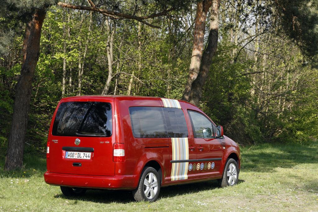 Fahrbericht VW Caddy Maxi Tramper Ecofuel: Spar-Urlaub für Flexible - Bild 3