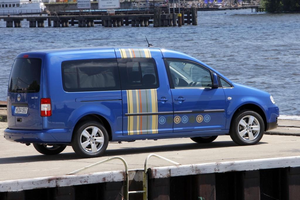 Fahrbericht VW Caddy Maxi Tramper Ecofuel: Spar-Urlaub für Flexible - Bild 8