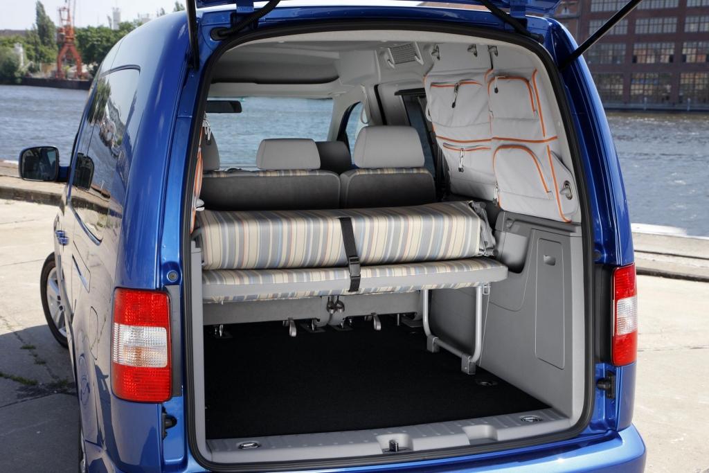 Fahrbericht VW Caddy Maxi Tramper Ecofuel: Spar-Urlaub für Flexible - Bild 9