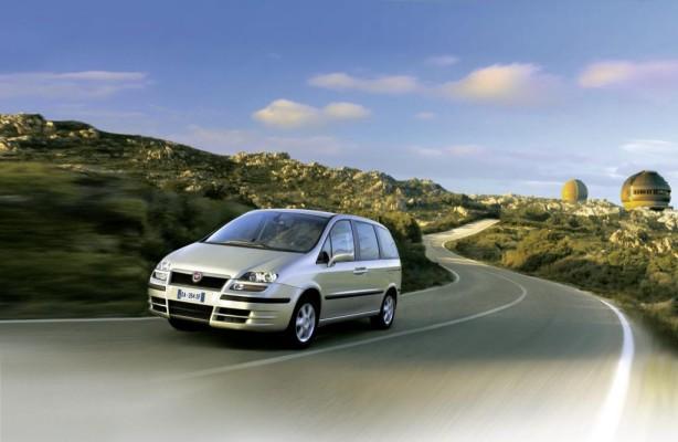 Fiat Ulysse und Lancia Phedra gehen in Pension
