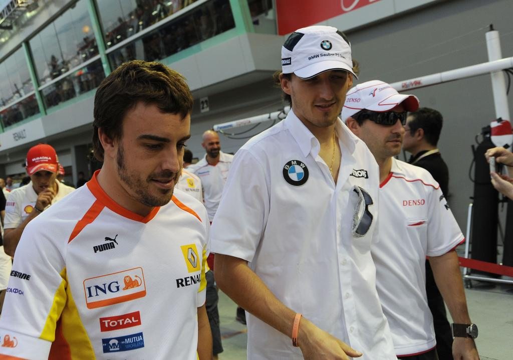 Formel 1: Alonso geht, Kubica kommt