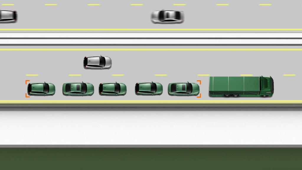 Forschungsprojekt: Autonome ''Auto-Züge'' auf der Autobahn
