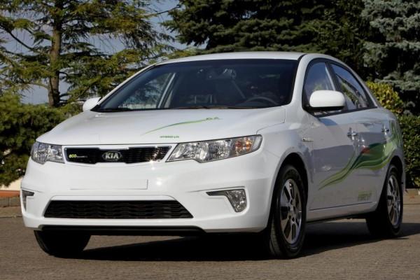 Kia startet europaweiten Flottentest mit LPG-Elektro-Auto