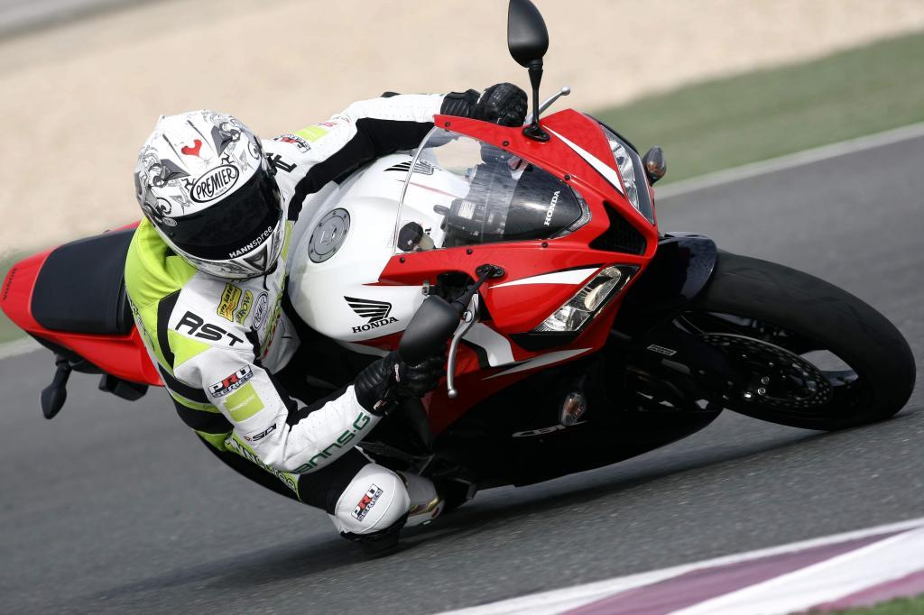 Kurzfahrbericht Honda CBR600RR: Feinarbeit am Supersportler  - Bild