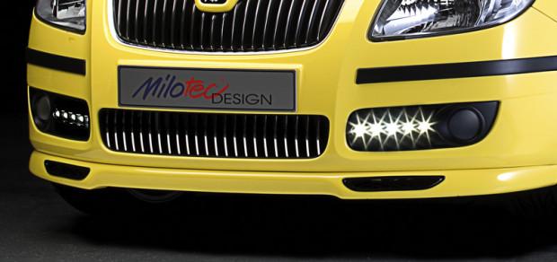 Lichtblicke von Milotec für Octavia-II-Modelle - Mehr Sicherheit: Tagfahrleuchten zum Nachrüsten