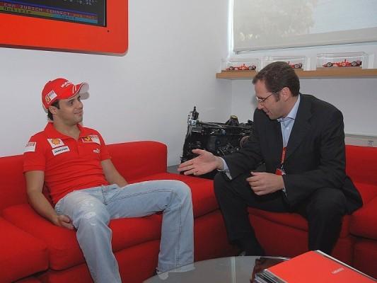 Massa kehrt nach Maranello zurück: Viel zu tun