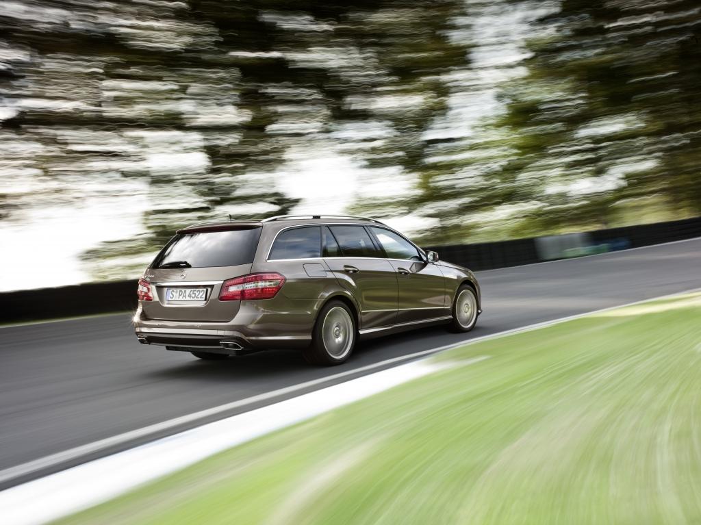 Mercedes E-Klasse T-Modell: Mit neuen und mit alten Tugenden  - Bild(8)