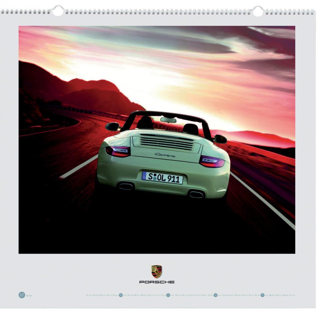 Mit Porsche-Kalender ins neue Jahr