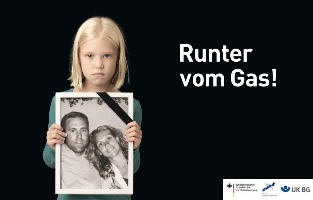 Neue Plakate werben für Verkehrssicherheit  - Bild