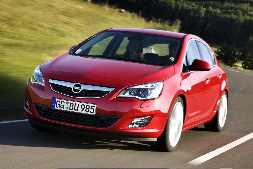 Opel Astra: Neuer Angriff auf den Golf - Bild(1)