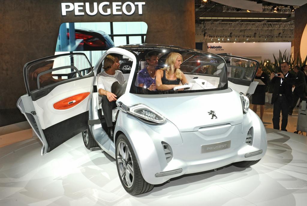 Peugeot BB1. Nach seiner Premiere auf der IAA startet er jetzt seine Europa-Tour.
