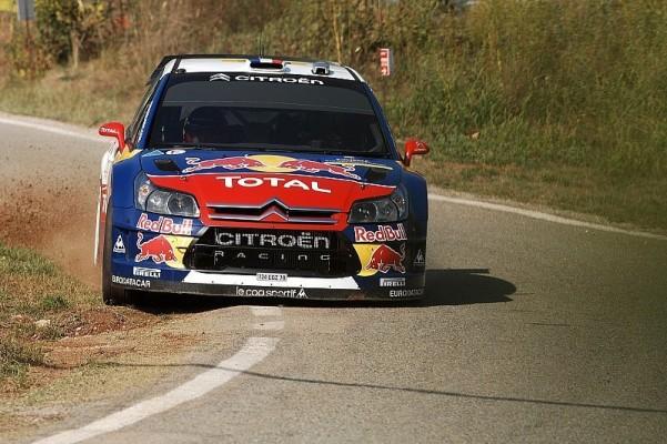 Rallye Spanien Tag 2 - Loeb und Sordo weiter vorn: Loeb und Sordo quasi gleichschnell
