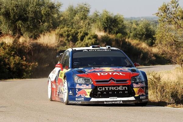 Rallye Spanien Tag 3 - Doppelsieg für Citroen: Citroen hält Fahrerwertung offen