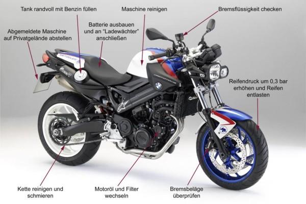 Ratgeber: Motorrad in Winterschlaf schicken