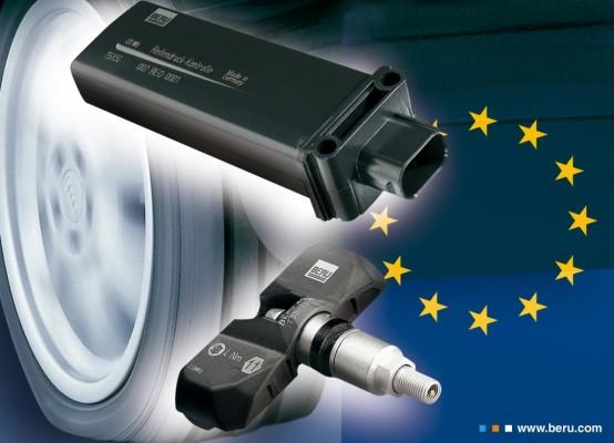 Reifendruck-Kontrollsystem wird ab 2012 Pflicht
