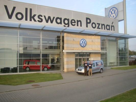 Rekord-Caddy mit Zwischenstopp im VW-Werk Poznan | Foto: auto.de/VW Nutzfahrzeuge
