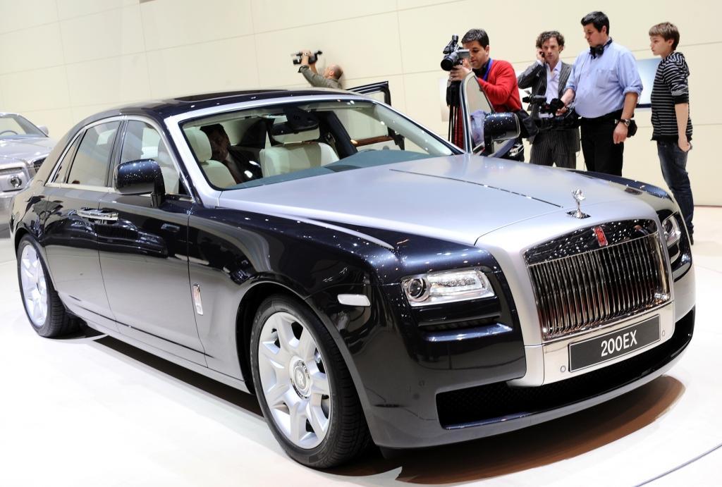Rolls-Royce nennt erste Daten zum Ghost