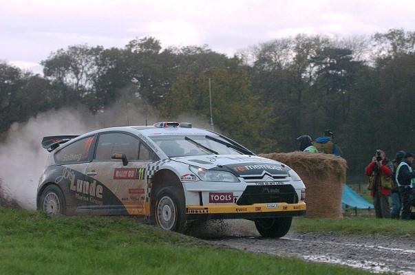 Shakedown Rallye Großbritannien: Solberg vorne: Petter Solberg setzt Ausrufezeichen