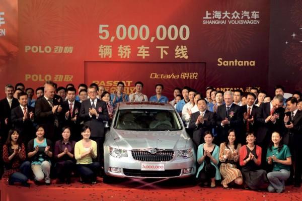 Shanghai Volkswagen feiert 25-jähriges Bestehen