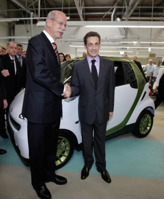 Smart Fortwo electric drive: Ab 2012 Großserienfertigung in Hambach