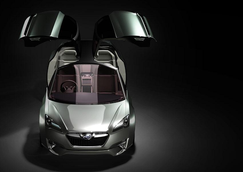 Subaru stellt hybriden Sportkombi auf Tokio Motor Show vor  - Bild(3)