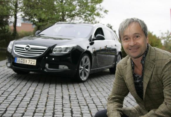 Thomas Darchinger fährt Opel Insignia Sports Tourer