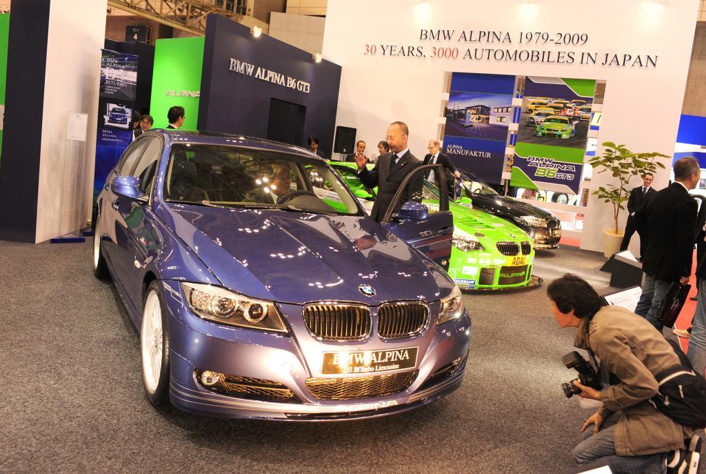 Tokio 2009: Alpina-Jubiläumsfeiern