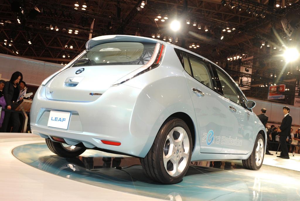 Tokio 2009: Nissan LEAF - Das erste kompakte Elektro-Serienfahrzeug der Welt - Bild