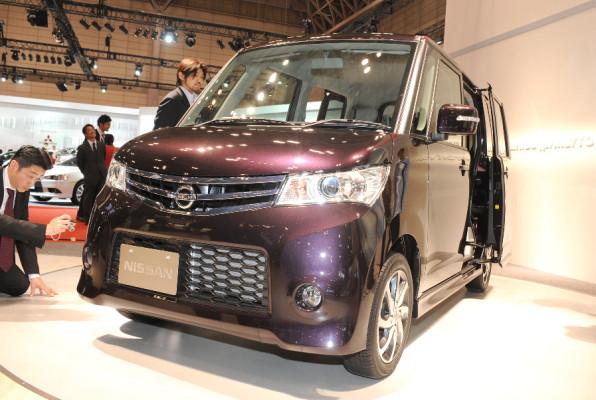 Tokio 2009: Nissan ROOX – Keiner zu klein, Auto zu sein.