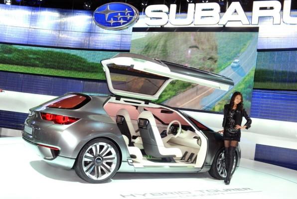 Tokio 2009: Subarus Flügeltürer